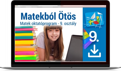 Matekból Ötös 9. osztályosoknak