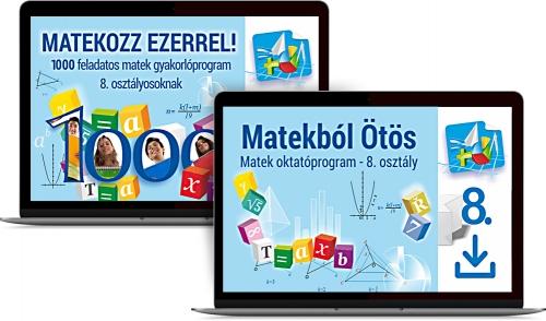 Matek Oktatócsomag 8. osztályosoknak