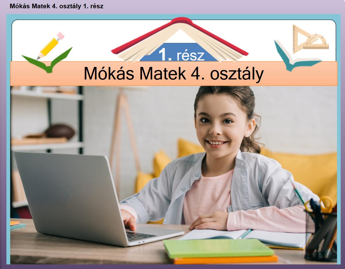 Mókás Matek 4. osztály 1. rész