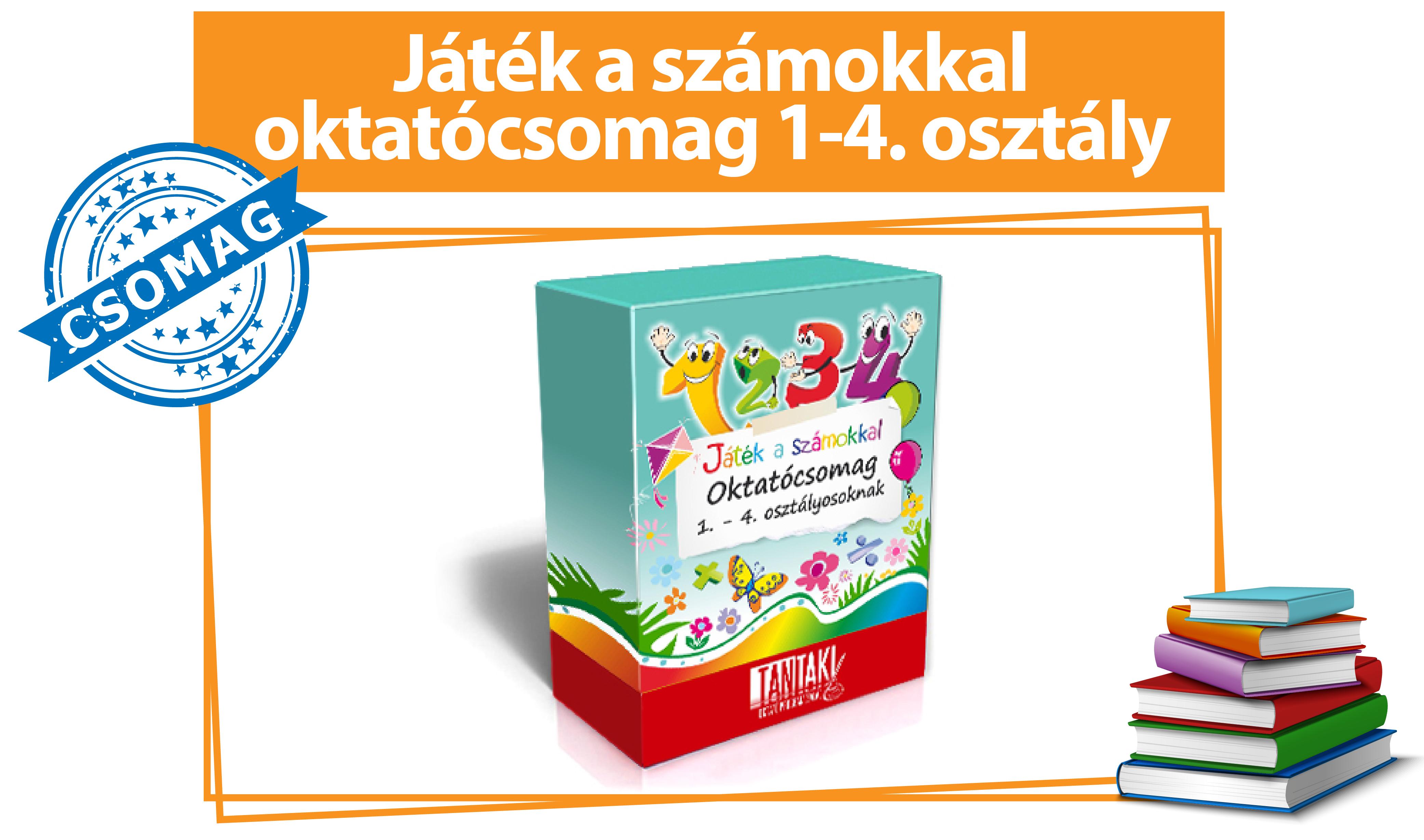 Játék a számokkal oktatócsomag (1-4. osztály)