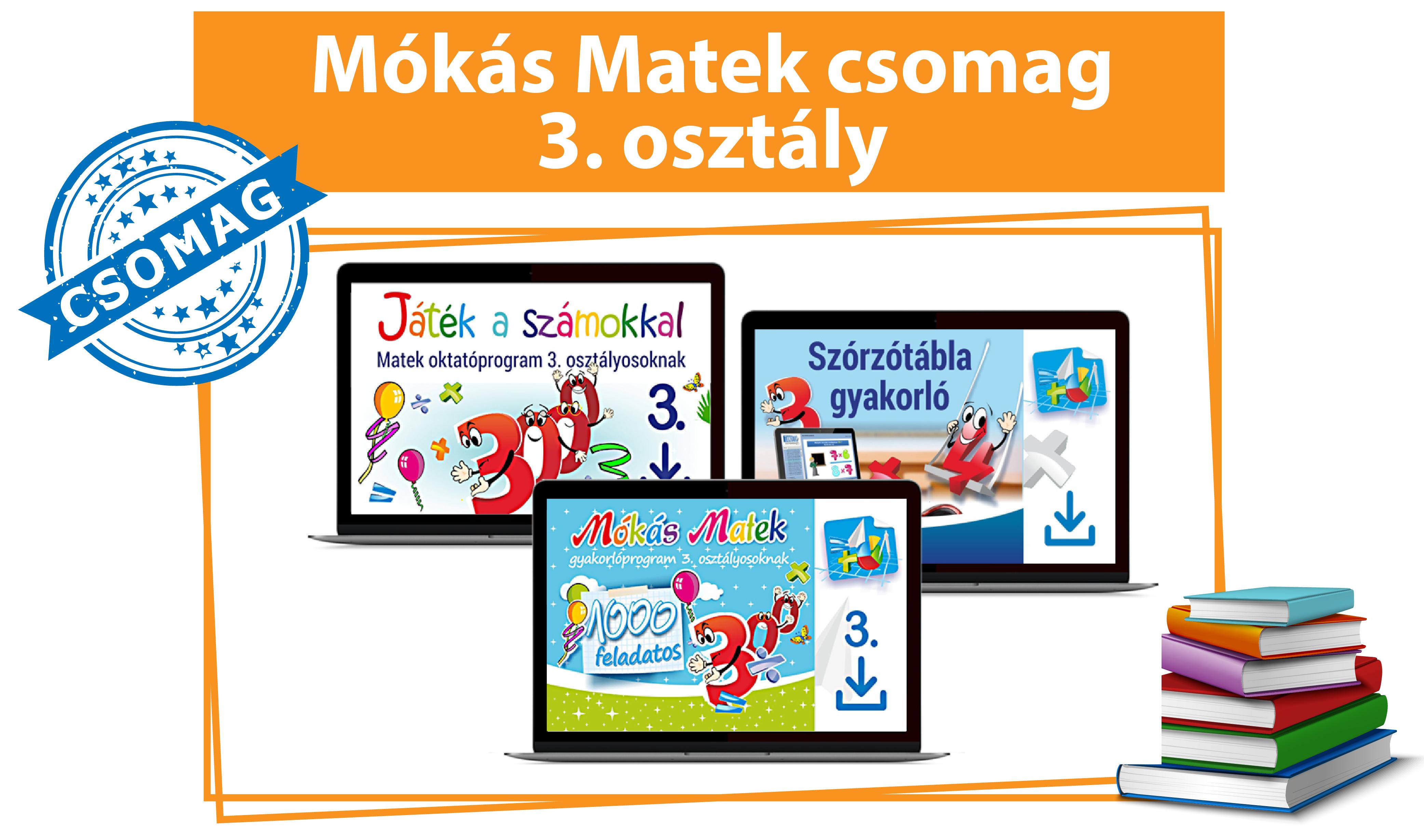 Mókás Matek Csomag 3. osztályosoknak