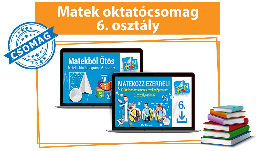 Matek Oktatócsomag 6. osztályosoknak