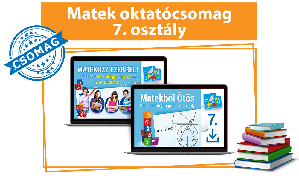 Matek Oktatócsomag 7. osztályosoknak
