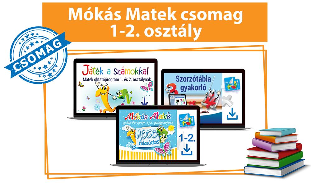 Mókás Matek Csomag 1-2. osztályosoknak