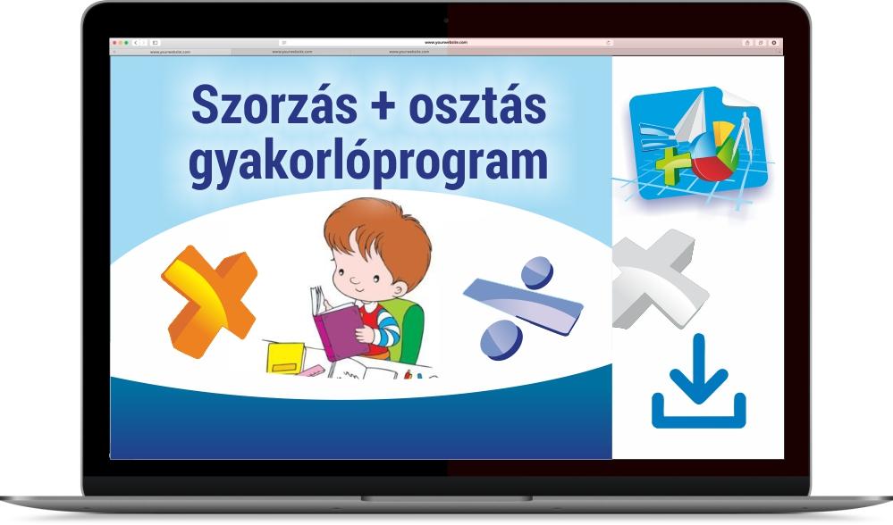 Szorzás és osztás gyakorlóprogram