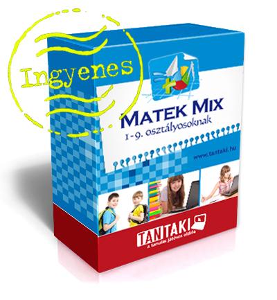 Matek Mix gyakorlóprogram